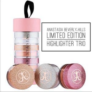 Anastasia Beverly Hills Loose Highlighter 3pk NEW